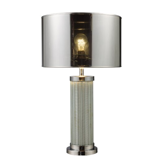 """Dimond Lighting Mont Alto 24"""" H Table Lamp with Drum Shade"""