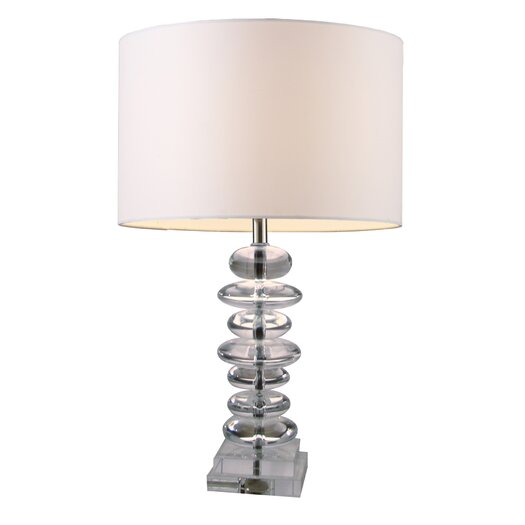 """Dimond Lighting Trump Home Madison 23"""" H Table Lamp with Drum Shade"""