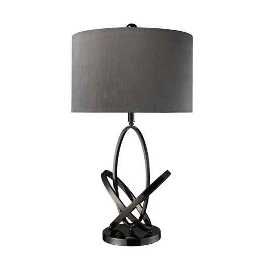 "Dimond Lighting Kinetic 30"" H Table Lamp with Drum Shade"