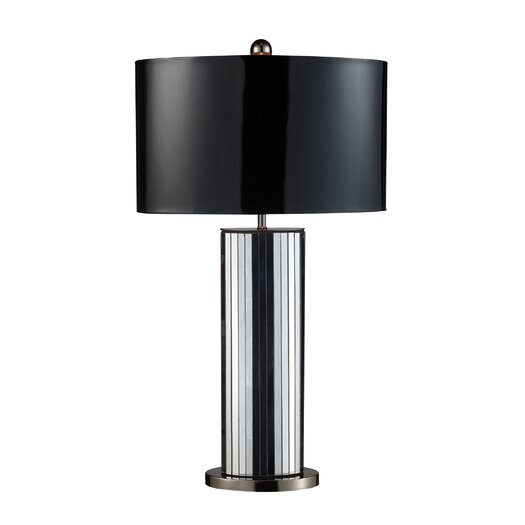"Dimond Lighting Shreve 32"" H Table Lamp with Drum Shade"