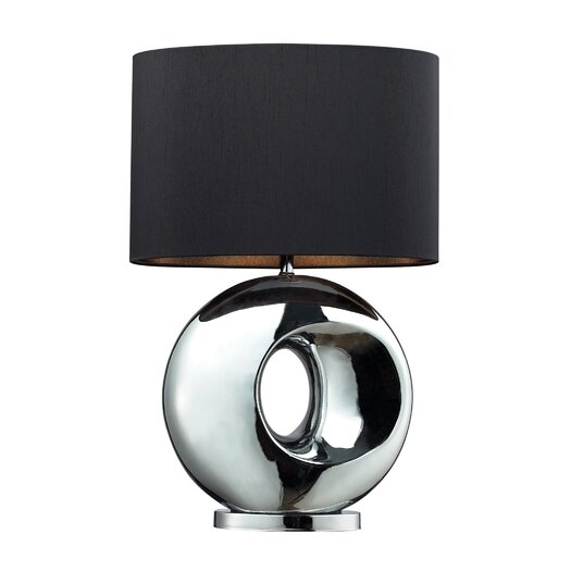 "Dimond Lighting Tobermore 25"" H Table Lamp with Drum Shade"