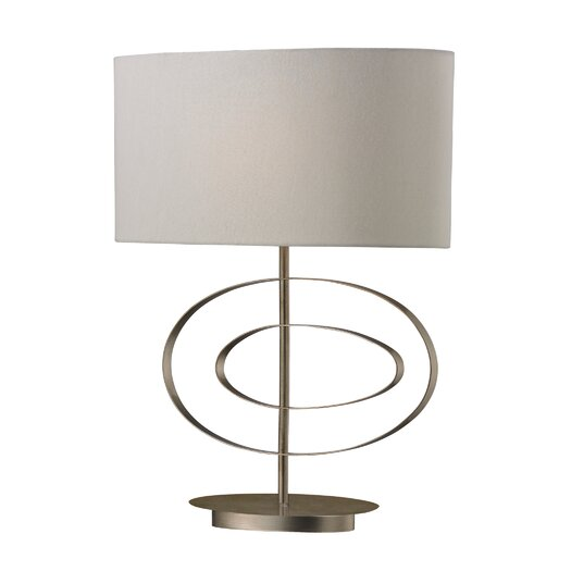 "Dimond Lighting Carson 21"" H Table Lamp with Oval Shade"