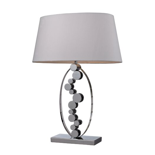"""Dimond Lighting Sidney 27"""" H Table Lamp with Drum Shade"""