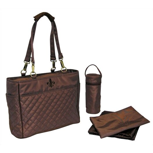 Kalencom N` Orleans Quilted Tote Diaper Bag