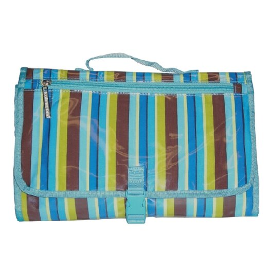 Kalencom Quick Change Kit in Blue Monkey Stripes