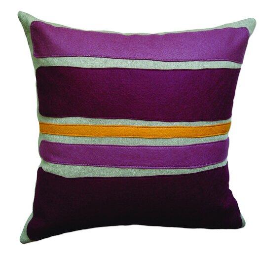 Balanced Design Block Applique Pillow