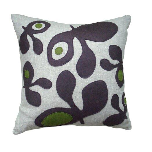 Balanced Design Pods Applique Pillow