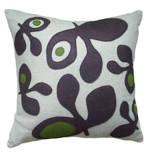 Balanced Design Big Pods Applique Pillow