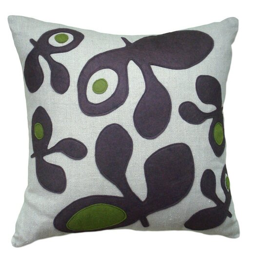 Balanced Design Big Pods Applique Pillow