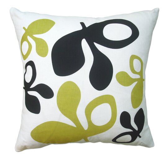 Hand Printed Pods Pillow