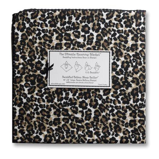 Swaddle Designs Ultimate Receiving Blanket® Baby Cheetah