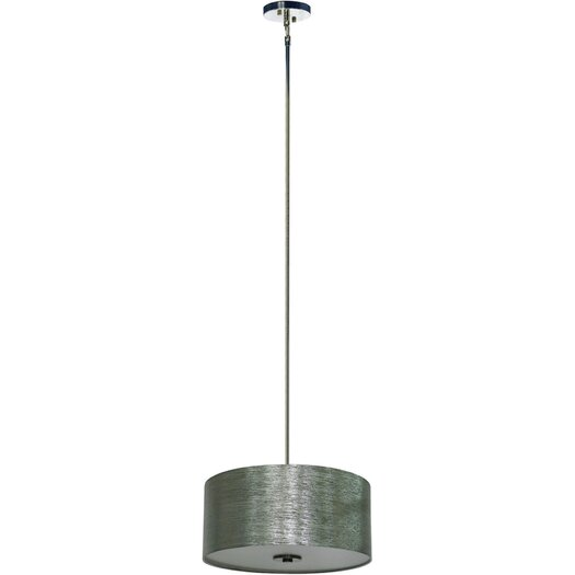 Yosemite Home Decor Lyell Forks 3 Light Pendant