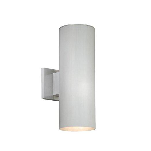 Vaxcel Chiasso Outdoor 2 Light Wall Lantern