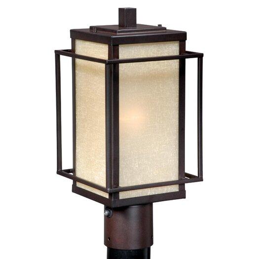 Vaxcel Robie 1 Light Outdoor Post Lantern