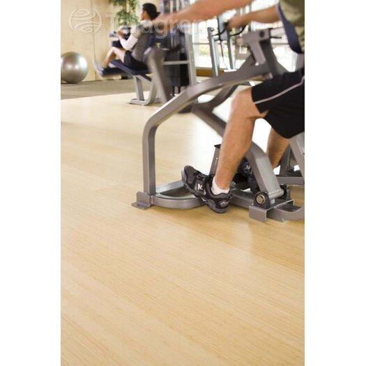 """Teragren Studio Floating Floor 7-11/16"""" Bamboo Flooring in Natural"""