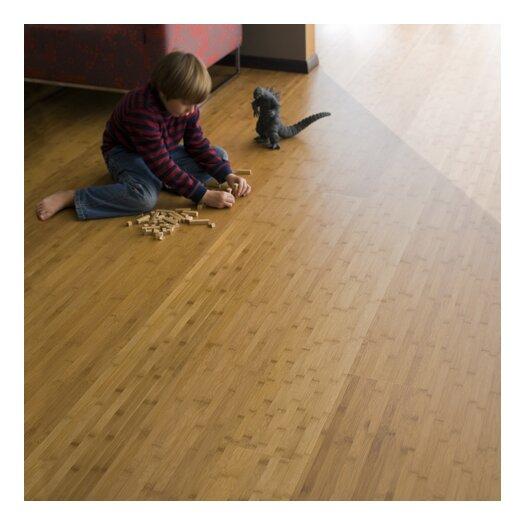 """Teragren Studio Floating Floor 7-11/16"""" Horizontal Bamboo Flooring in Caramelized"""