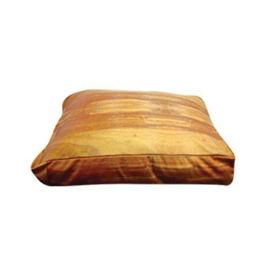 Dogzzzz Rectangle Wood Flooring Dog Pillow