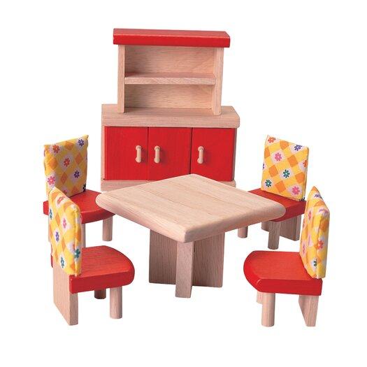 Plan Toys Dollhouse Dining Room - Neo