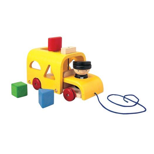 Plan Toys Preschool Sorting Bus