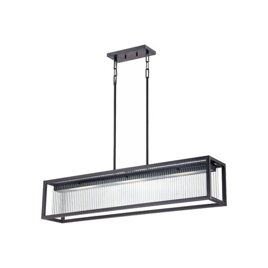 Nuvo Lighting Bin 3 Light Kitchen Island Pendant