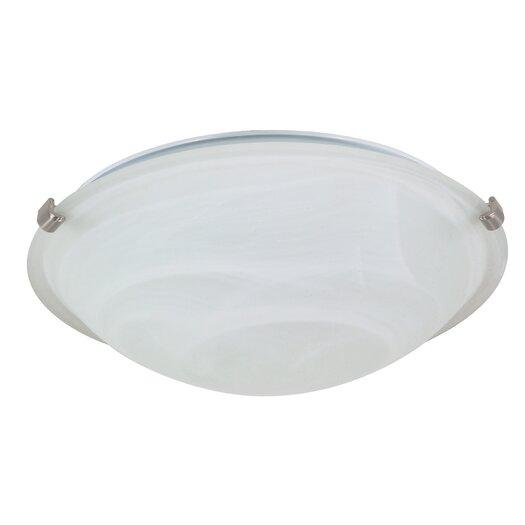 Nuvo Lighting Tri Clip Flush Mount