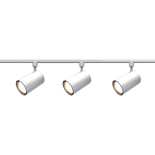Nuvo Lighting 3 Light Straight Cylinder Track Light Kit
