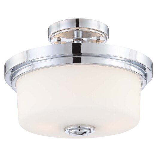 Nuvo Lighting Soho 2 Light Semi Flush Mount