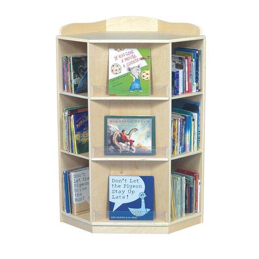 "Guidecraft Corner 44"" Bookcase"