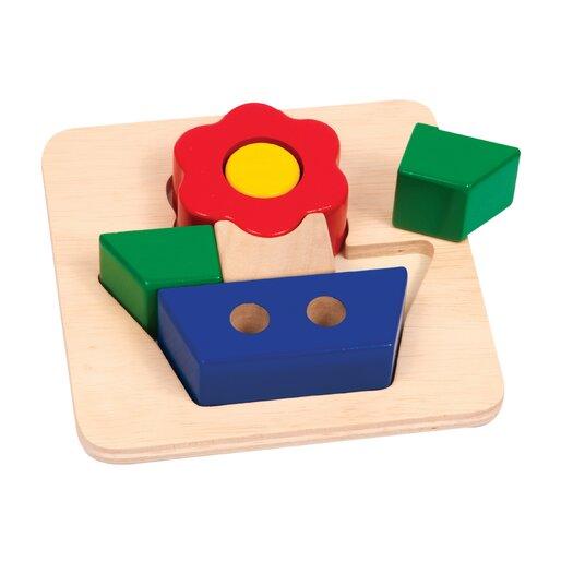Guidecraft Flower Primary Puzzle