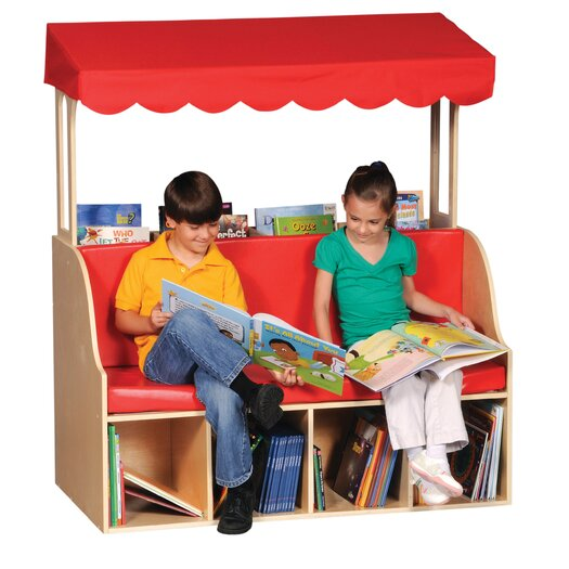 Guidecraft Sit and Store Reading Center Kid's Chair