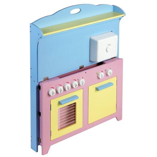 Guidecraft 6 Piece Hideaway Kitchen Set
