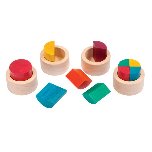Guidecraft Fraction Cups