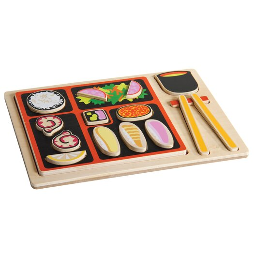 Guidecraft Japanese Sorting Food Tray