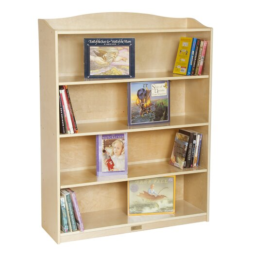"Guidecraft 5 Shelf 48"" Bookshelf"