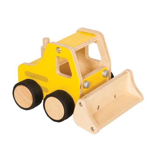 Guidecraft Plywood Front Loader Bulldozer