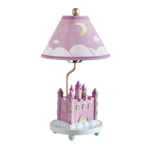 "Guidecraft Princess 18"" H Table Lamp with Empire Shade"