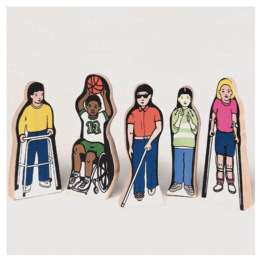 Guidecraft Special Needs Children Figures