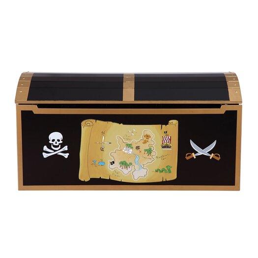 Guidecraft Personalized Pirate Treasure Chest