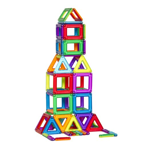 Guidecraft Construction Toys PowerClix 68 Piece Building Set