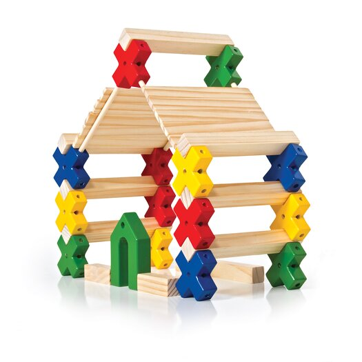 Guidecraft Construction Toys Texo 210 Piece Building Set