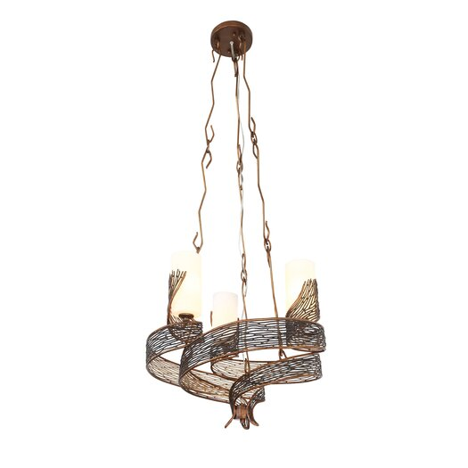 Varaluz Flow 3 Light Mini Chandelier