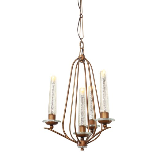 Varaluz Madison 4 Light Candle Chandelier