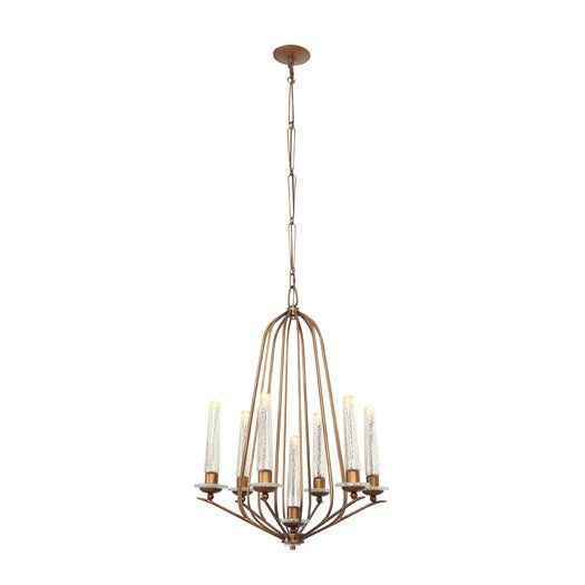 Varaluz Madison 7 Light Candle Chandelier