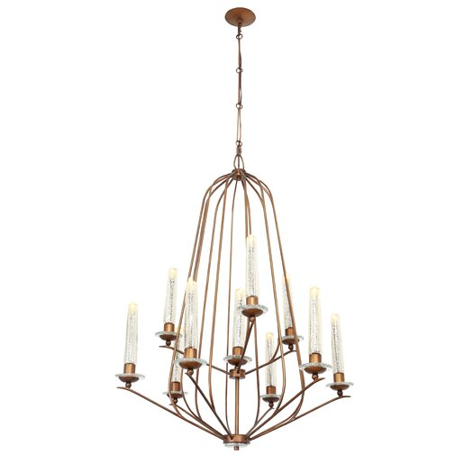 Varaluz Madison 10 Light Candle Chandelier