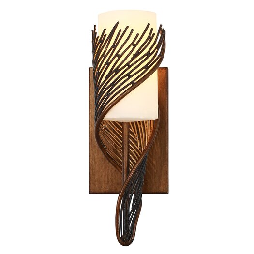 Varaluz Flow 1 Light Wall Sconce