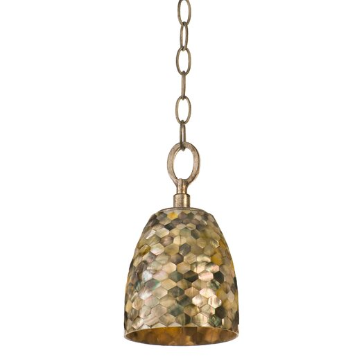 Varaluz Naturals 1 Light Mini Pendant