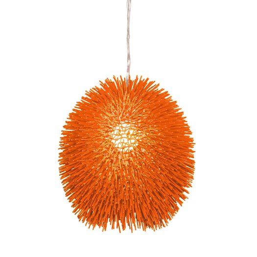 Varaluz Urchin 1 Light Drum Foyer Pendant
