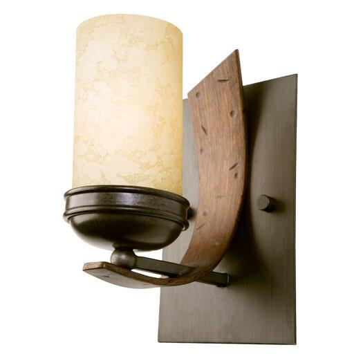 Varaluz Aizen 1 Light Recycled Bath Light