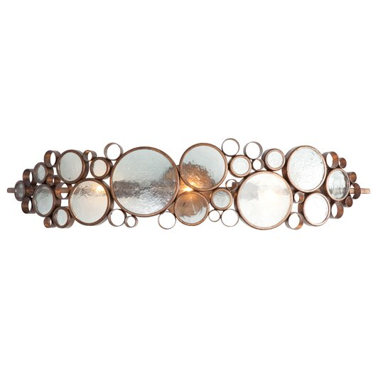 Varaluz Fascination Recycled 3 Light Bath Vanity Light