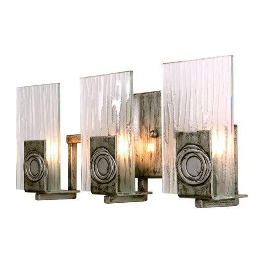 Varaluz Polar Recycled 3 Light Bath Vanity Light